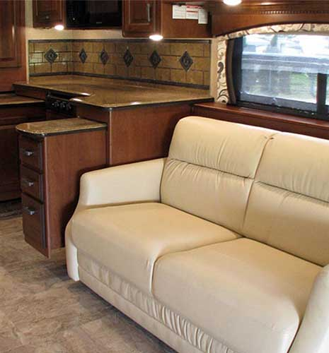Best Sofa Bed For Rv: Countryside RV Interiors
